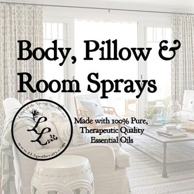 Mask, Body, Pillow & Room Sprays