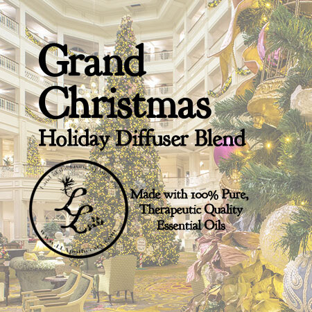 Grand Christmas   Holiday Diffuser Blend