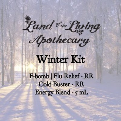 Winter Kit (F-Bomb|Flu Relief, Cold Buster & Energy Blend)