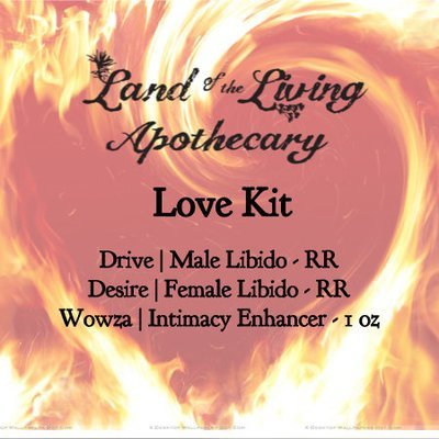 Love Kit (Drive | Male Libido - RR, Desire | Female Libido - RR, Wowza | Intimacy Enhancer - 1 oz)