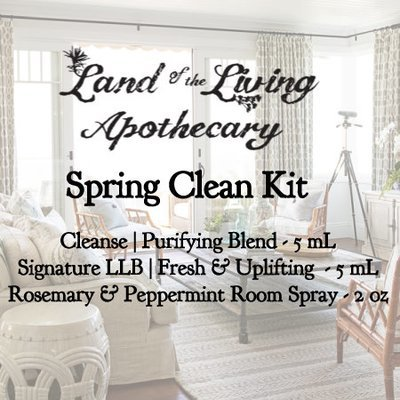 Spring Clean Kit (Cleanse - 5 mL, Signature LLB - 5, Rosemary & Peppermint Spray - 2oz)  )