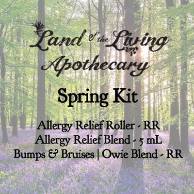 Spring Kit (Allergy Relief Roller, Allergy Relief Blend, Bumps & Bruises)