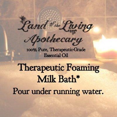 Therapeutic Foaming Milk Bath & Shower Gel
