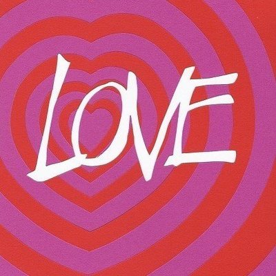 LOVEHEARTS A5 square card