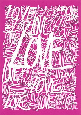 ALL THE LOVE A5 card
