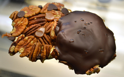 Dark Chocolate Tortoise with Agave Caramel & Monterey Bay Sea Salt