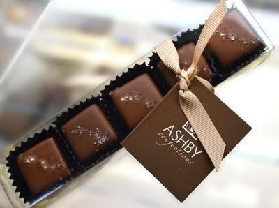 6-Piece Milk Chocolate Salted Caramels
