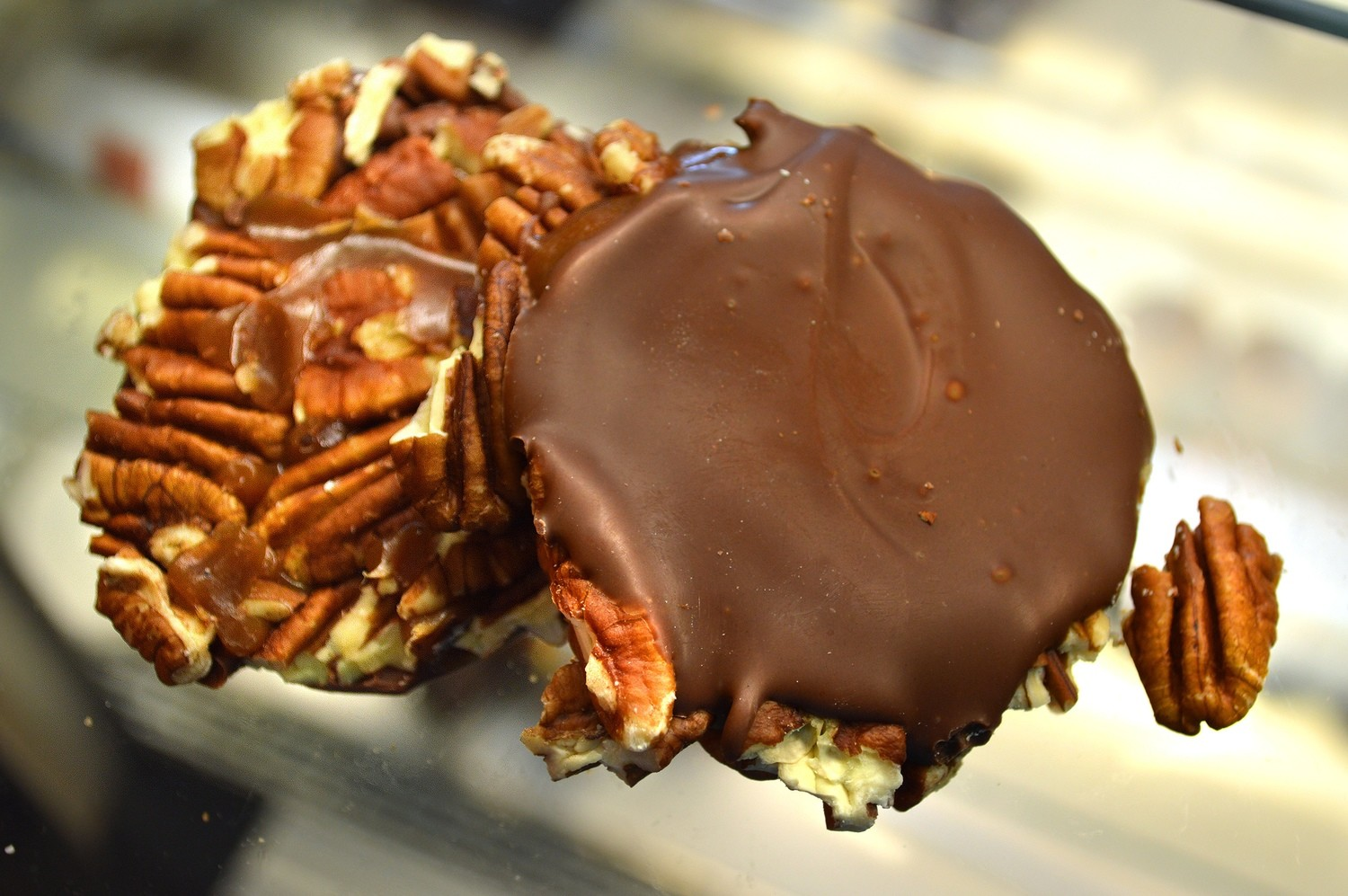 Milk Chocolate Pecan Tortoise