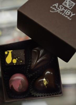 4-Piece Assorted Dark Chocolates