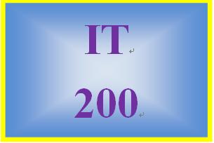 IT 200 Week 4 Individual: Benefits of Social Media