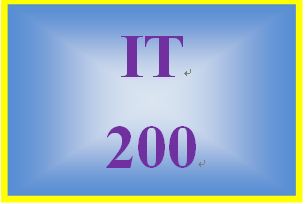IT 200 Week 5 Individual: Benefits of Mobile and Wearable Computing Devices