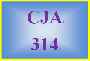 CJA 314 Week 2 Individual Paper – Prison Term Policy Recommend-ation Proposal