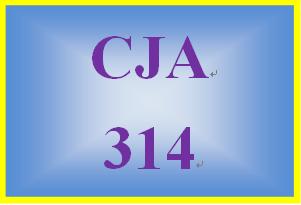 CJA 314 Week 4 Individual Paper -Policy Issues