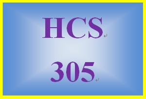 HCS 305 Week 5 Planning Your Brand