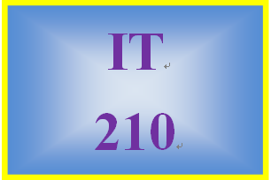 IT 210 Week 7 Checkpoint: chapter 8 programming problems