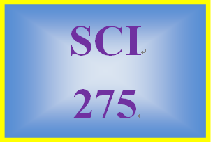 SCI 275 Week 2 Risk Assessment