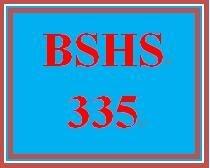 BSHS 335 Week 2 Ethical Practice Brochure