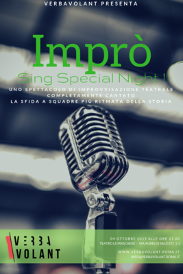 Imprò  Sing Special Night- RIDOTTO
