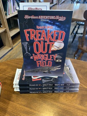 Freaked Out At Wrigley by Roger Hess