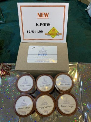 K-Pods/12ct.   Frosty's Delight