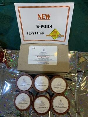 K-Pods/12ct.   Michigan Cherry