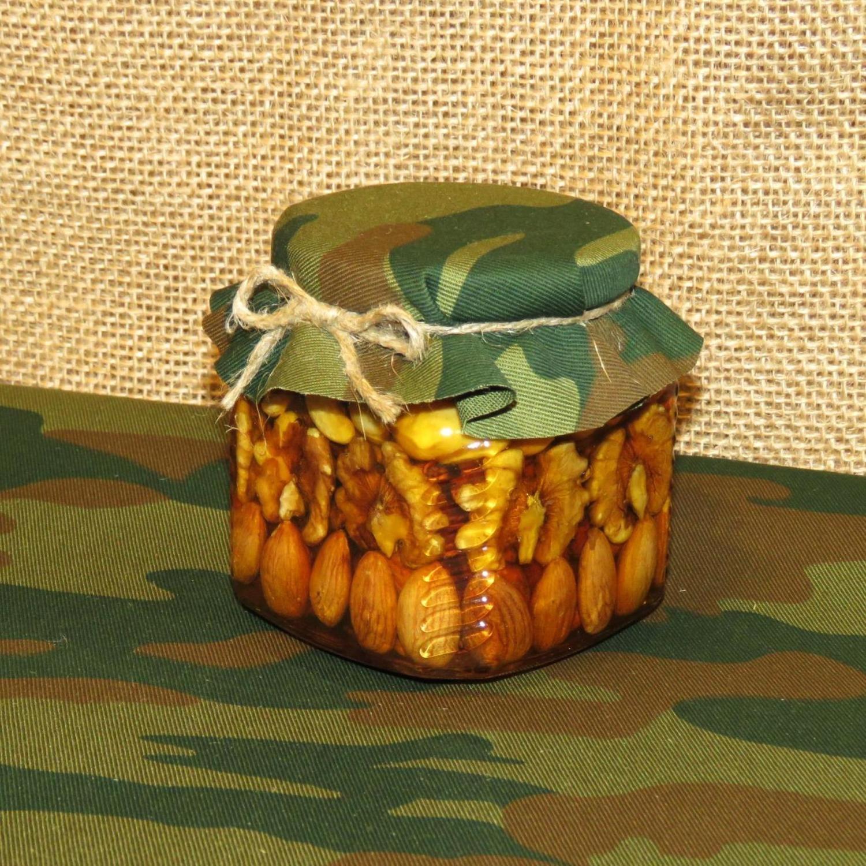 Орехи в меду (рядами)/23 февраяля, 250 мл.