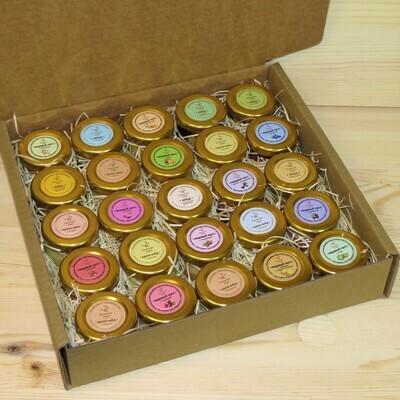 Подарочный набор (25 шт., ассорти: мусс, крем, орехи, семена)