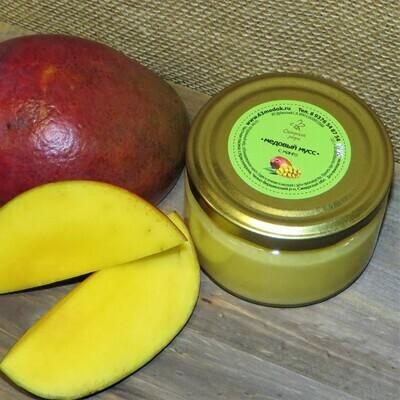 Медовый мусс с манго, 250 мл.