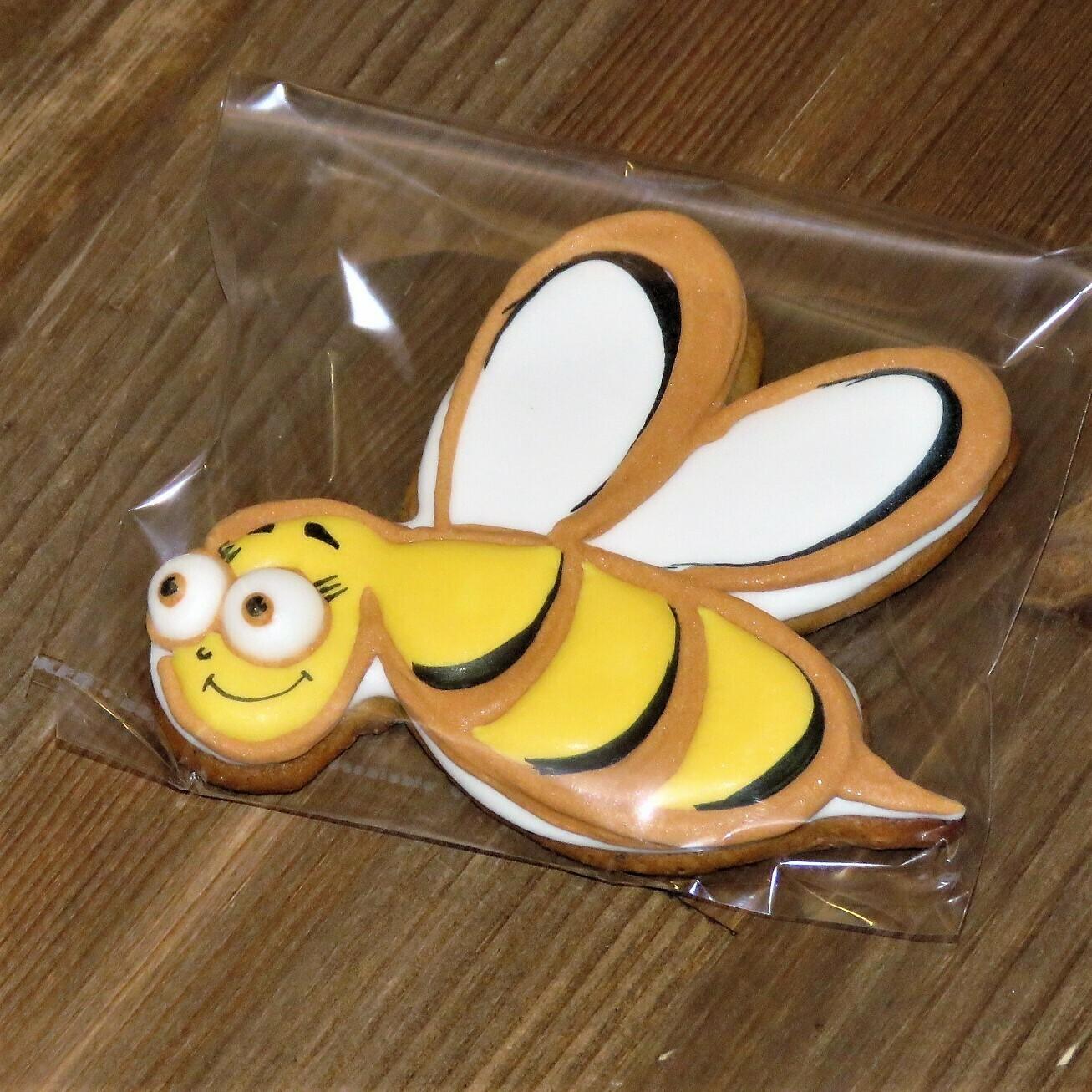 """Имбирный пряник """"Пчелка - Самарский медок"""""""