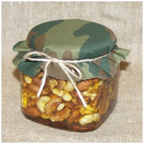 Орехи в меду (россыпью), 390 мл. (23 февраля)