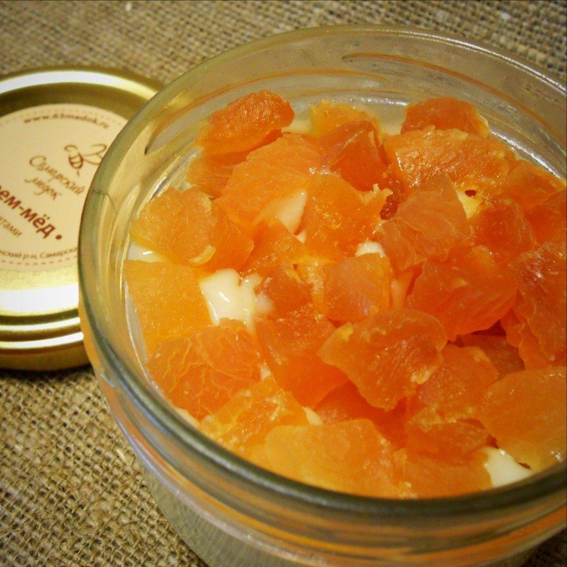 Крем-мёд с персиком, 250 мл