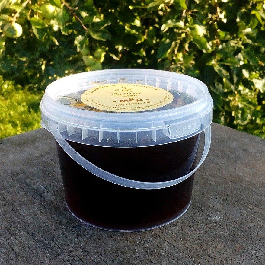 Мёд гречишный, 0,5 л.
