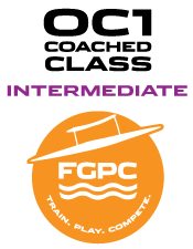 FGPC Coached Small Boat Program 1 - Intermediate Tuesdays 6 pm - 7:30 pm - Club Boats