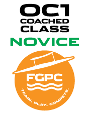 FGPC Coached Small Boat Program 3 - Novice - Saturdays 2 to 3 pm  - July 18 to Aug 8