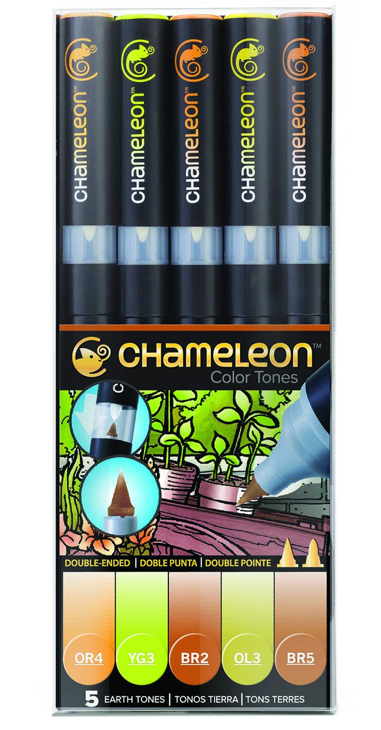 Chameleon 5 Pen Set Earth