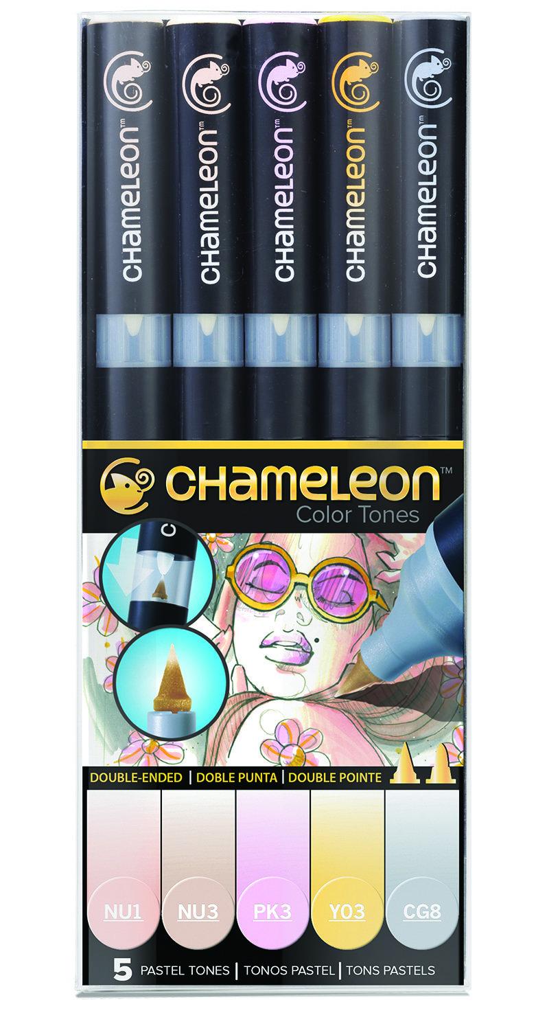 Chameleon 5 Pen Set Pastel