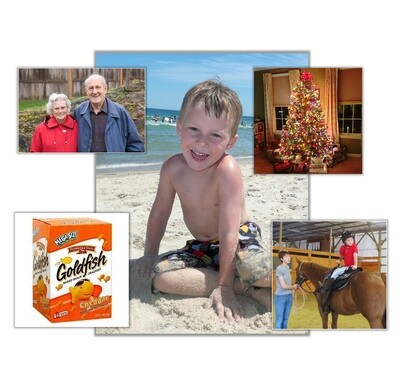 Digital Photo Magnet Set (12, 24 or 36)