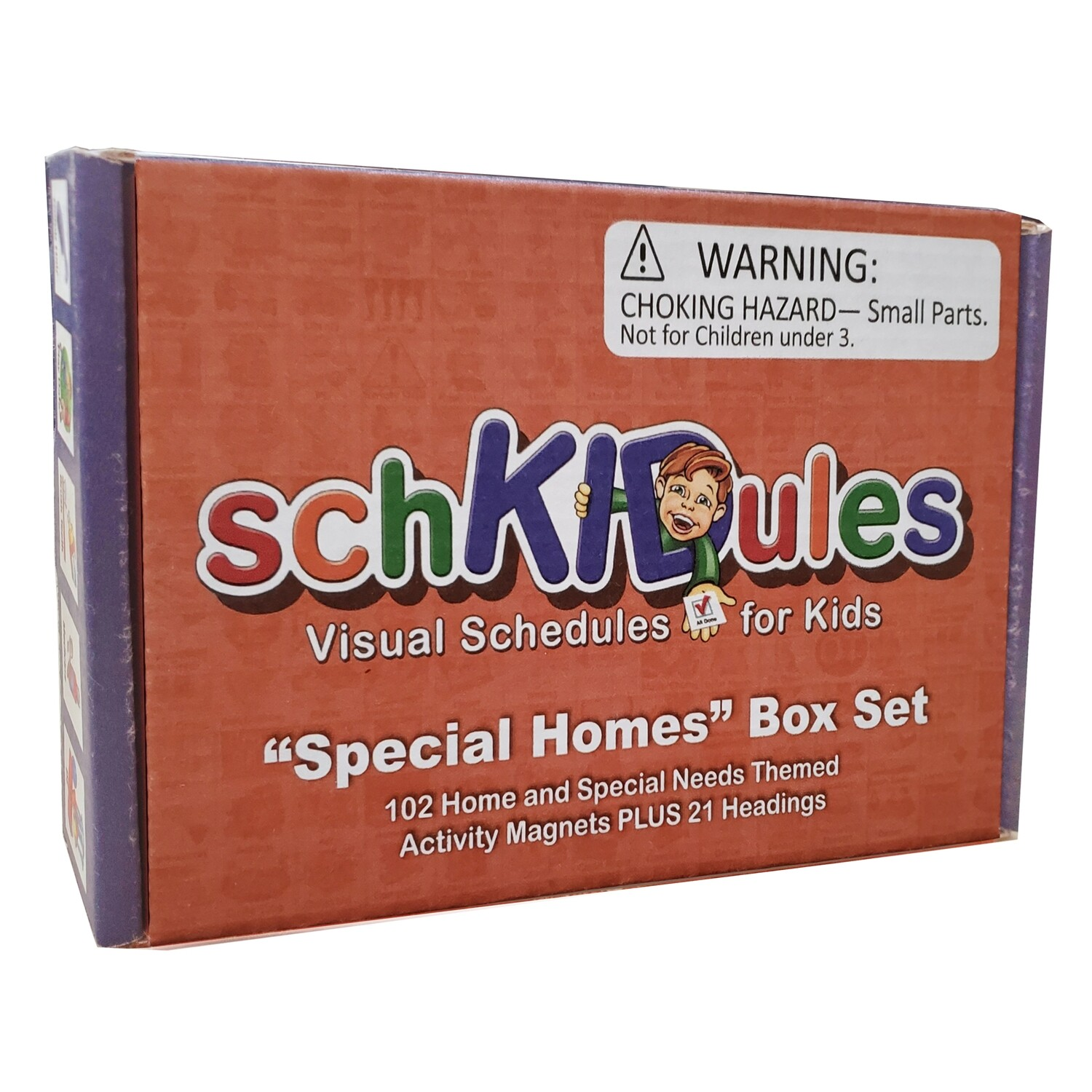 SchKIDules 123 Pc Special Homes Box Set