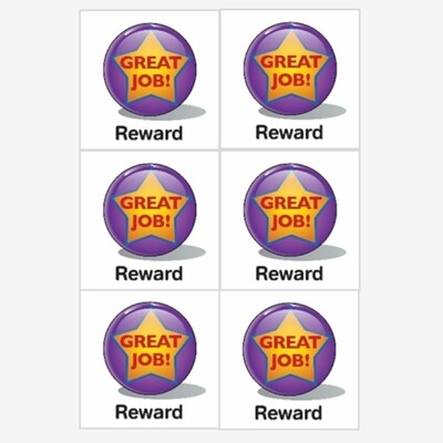 6 Reward Magnets
