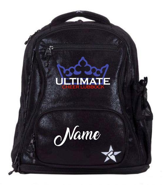 UCL/Rebel Black Faux Suede Dream Bag