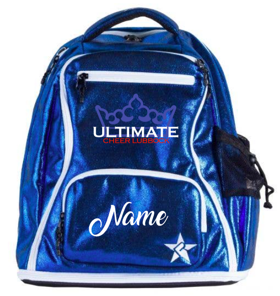 """""""BABY"""" UCL/Rebel Royal Faux Suede Dream Bag"""