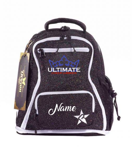 """BABY"" UCL/Black Glitter Dream Bag"