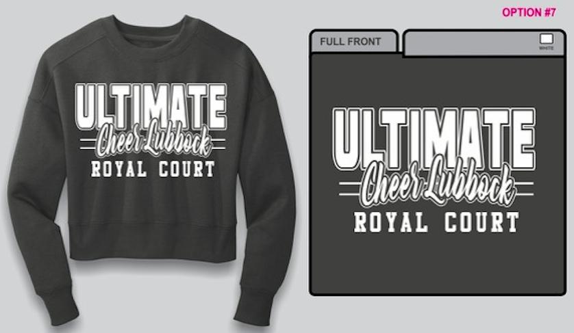 Season 7 Team Crop Sweatshirt
