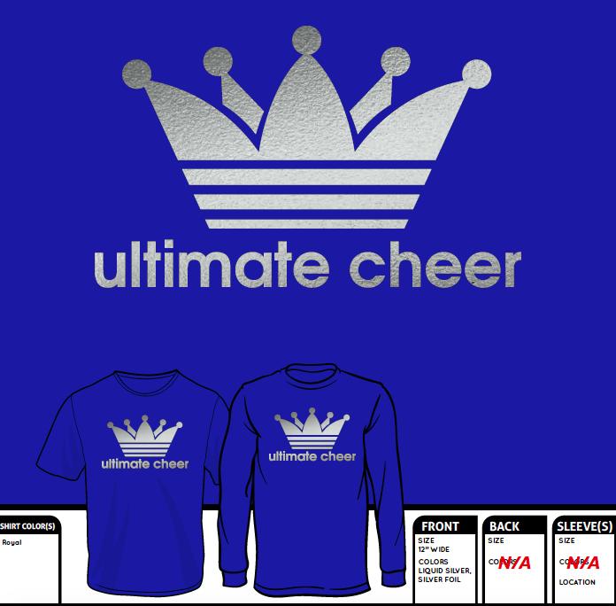 Royal & Silver Foil Crown Logo, Pre-Order!