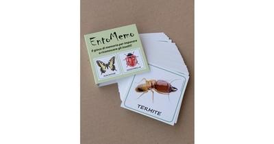 EntoMemo - Il gioco di memoria per imparare a riconoscere gli insetti