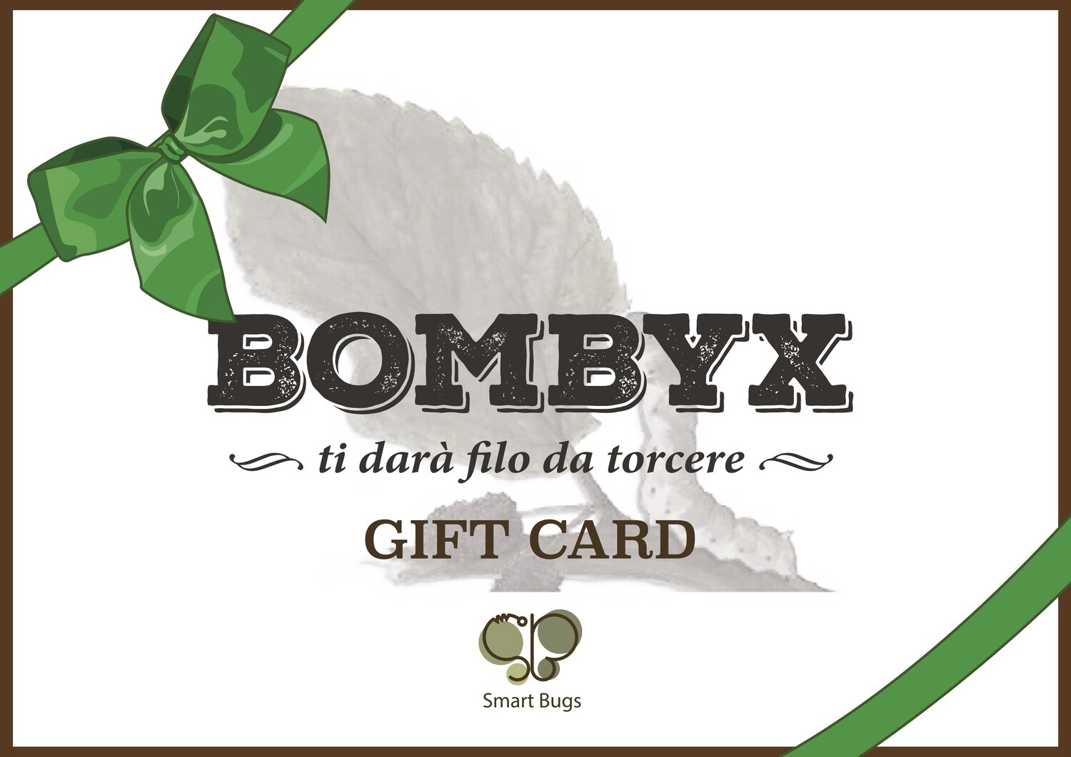 Gift-Card Bombyx