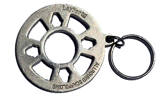 Steel Rosette Allround Keychain
