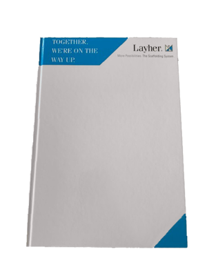 A4 Layher Notebook