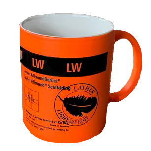 Lightweight Allround Mug in Orange