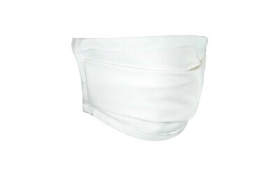 Blank Face Mask with Filter Pocket
